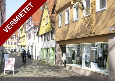 Großes Ladengeschäft in Kirchheim Teck