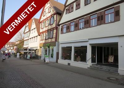 Geschäft in Kirchheim – Marktstraße 11
