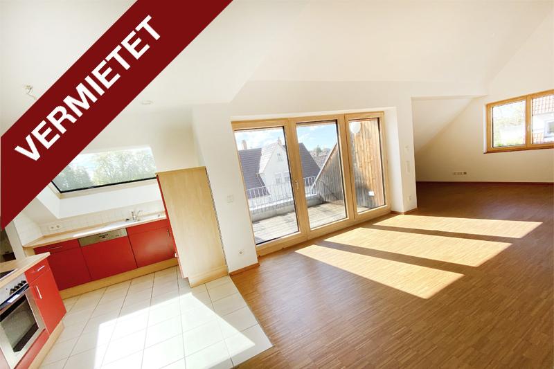 3 ½ Zimmer DG Wohnung Kirchheim